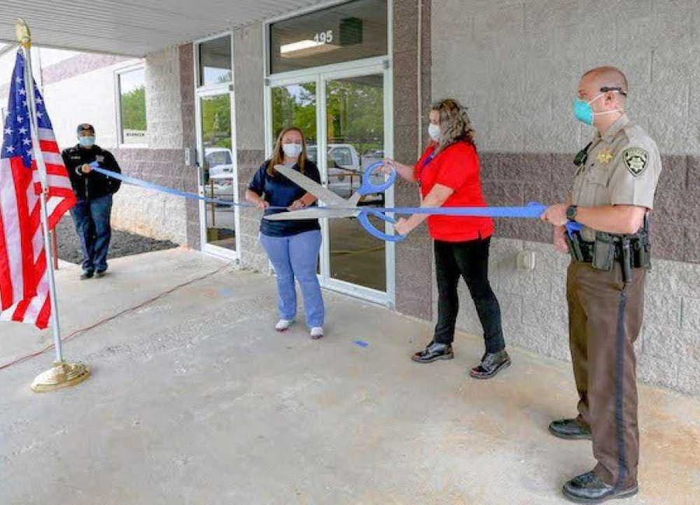 Windamir Completes Construction of 911 Call Center for Coweta County