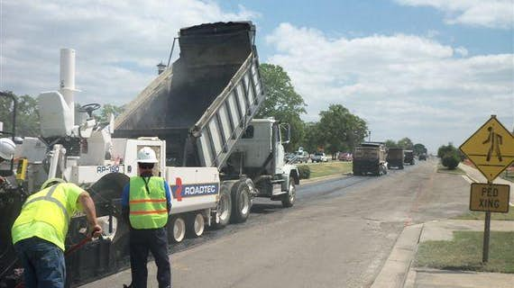 Paving & Traffic Control Improvements